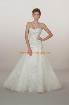 Liancarlo A-linie Dramatische Hochzeitskleider aus Softnetz