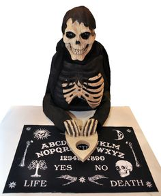 The Reaper Summoner of Spirits Animated Ouija Board Halloween Prop