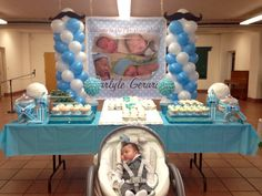 Created this candy/dessert buffet for Carlyle Baptism