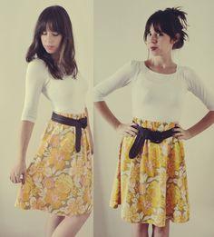 diy skirt...but longer