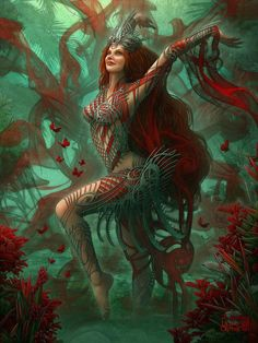 ArtStation - Goddess of the Oasis advanced version, Kerem Beyit