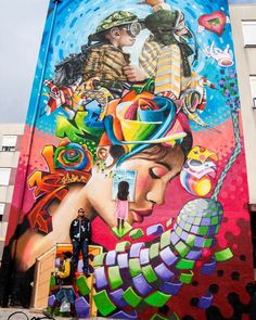 by Nomen + Vespa + Utopia in Lisbon, Portugal (LP)