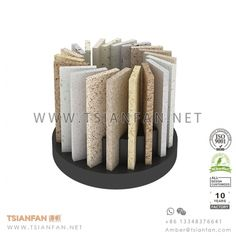 Granite and Quartz Stone Counter Stand , Stone Sample Chip Display , Spinning Artificial Stone Desk Display Marble Quartz, Quartz Stone, Morris Homes, Glass Photography, Artificial Stone, Engineered Stone, Stone Slab, Granite Counters, Layout