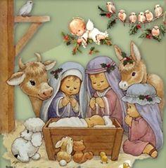 Para imprimir Christmas Nativity Set, Christmas Bible, Christmas Topper, Christmas Thoughts, Christmas Door Decorations, Old Christmas, Christmas Scenes, A Christmas Story, Christmas Pictures