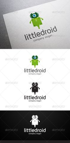 Little Droid Logo #GraphicRiver Description Little Droid Logo is a multipurpose logo. This logo can be used by IT companies, app developers, etc. What's included? 100% vector AI and EPS files CMYK Fully editable – all colors and text can be modified Layered 3 color variations Font Font used: Maven Pro Don't forget to rate if you like! Created: 26 November 13 Graphics Files Included: Vector EPS #AI Illustrator Layer...