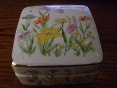 Vintage Fine China Ben Rickert Floral Beauty Trinket by PAULIE22, $5.00