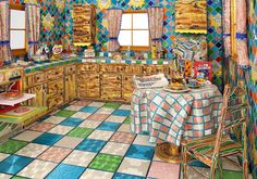 I'd love to cook in this kitchen