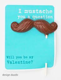 moustache valentine - Google Search