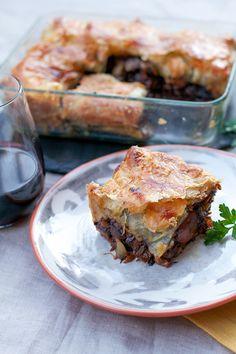Beef Bourguignon Pot Pie   Dang That's Delicious