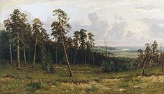 Iwan Szyszkin. Skraj lasu
