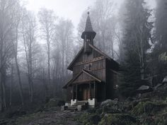 Forest Chapel, Bohmian Forest, Czech Republic