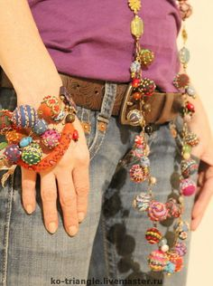 Fabric Beads http://renew.gallery.ru/watch?ph=AbZ-dU1aF
