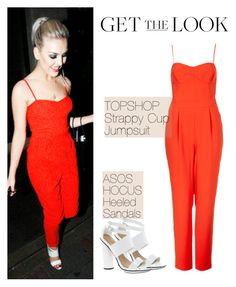 """Perrie Edwards"" by silvana-loli-olivas ❤ liked on Polyvore featuring Topshop and ASOS"