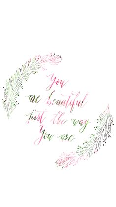 You are beautiful | Free download for IPAD and IPHONE | Descarga gratis de papel tapiz. Wallpaper gratis.