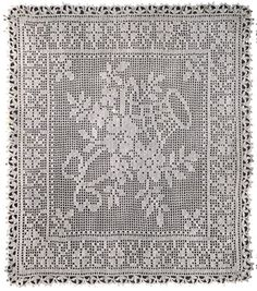 Heirloom Crochet - Vintage Crochet Patterns - Antonie Ehrlich N0 8 - Filet Crochet