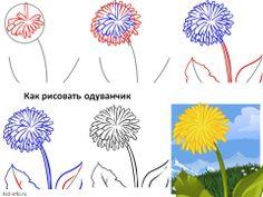 kak-risovat-oduvanchik.jpg (960×720)