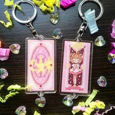 Card Captor Sakura Acrylic Charm 0