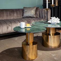Richmond Interiors Bijzettafel | Gratis bezorgd > 50, • Sohome Richmond Interiors, Elegant Chic, Marble, Furniture, Home Decor, Products, Decoration Home, Room Decor, Granite