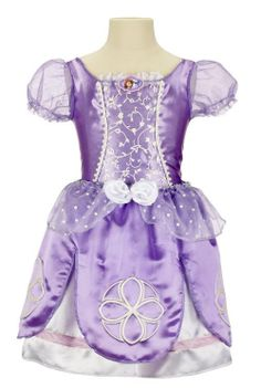 Disfraz niña Princesa Sofia. Disney Para que la más pequeña de la casa se sienta como una verdadera princesa Sofia.