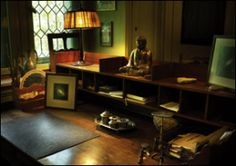 The desk of C. G. Jung