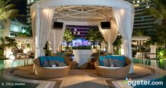 Lounge in luxury at Fontainebleau Miami Beach.
