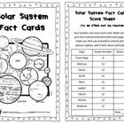 Solar System Fact Cards Informational Text Research Project Science 3.E.1.1  This is a project where students create fact cards about each planet. They use online sources or informational text about each planet to gather the...