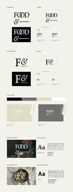 Food& by Passport → more on designvertise.com