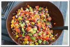 Pepper Salad (Super Healthy Kids)