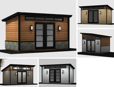 Plans to Build a shed on a weekend - 210 - Cabanon St-Hubert Build a Shed on a Weekend - Our plans include complete step-by-step details. If you are a first time builder trying to figure out how to build a shed, you are in the right place! Pool Shed, Backyard Sheds, Backyard House, Backyard Studio, Shed Plans 8x10, Diy Shed Plans, Studio Shed, Wood Storage Sheds, Backyard Storage