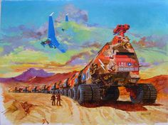 Picture from Amtrak Wars by Pat Tilley this one is by Fernando Fernandez from this book