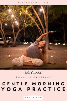 Mar 2020 - This 20 minute morning yoga class is perfect for all levels. Yoga Flow Sequence, Yoga Sequences, Yoga Poses, Beginner Yoga, Yoga For Beginners, Advanced Yoga, Namaste, Sunrise Yoga, Yoga Photography