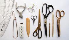Bag Patterns To Sew, Pdf Sewing Patterns, Dress Patterns, Pattern Cutting, Pattern Making, Fabric Scissors, Pattern Drafting, Sewing Tools, Sewing
