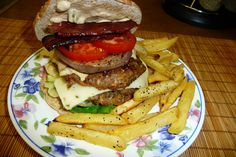 Spicy Burger with Jalapeno Mayonnaise