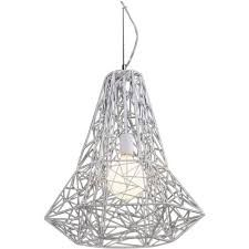 white wire pendant light au - Google Search