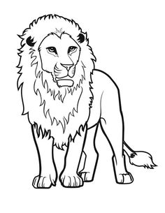 Awesome Lion Drawing Coloring Page : Color Luna Lion Coloring Pages, Lion Illustration, Lion Drawing, Online Coloring, Drawings, Awesome, Bear, Group, Bears