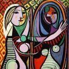 Muchas personas conocer Pablo porque de su loco y diferente arte. -- (cubism)