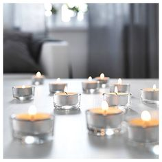 Ikea Glimma12 Tealight Holders with Tealights >>> This is an Amazon Affiliate link. To view further for this item, visit the image link.