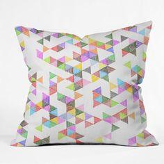 Fimbis Technicolour Raindrops Cushion Cover by Deny Designs on POP.COM.AU