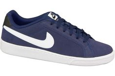 Mens Nike Trainers Court Majestic Suede Blue White  Sizes 6.5 to 10  NEW