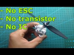 Hard drive motor is brushless motor. It works with high frequency 3 phase voltage from ESC. However in this video, I tried to run it without ESC. Nrf24l01 Arduino, Hobby Electronics, Cool Inventions, Web Browser, Hdd, Circuit, Running, Youtube, Aircraft