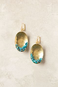 Callais Earrings #anthropologie