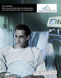 Agence MELVILLE pour l'ADMD (Association pour le Droit de Mourir dans la Dignité)  #choc?