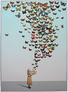 Open Your Wings, Open Your Heart And Let Your Soul Fly!