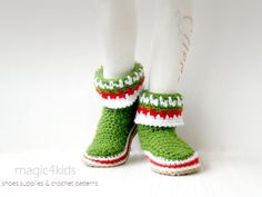 Toddler's Christmas slippers/boots,kids,shoes   Craftsy