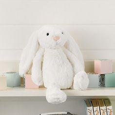 Jellycat Bashful Bunny - Medium White | The White Company Exclusive