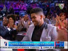El Dominicano Karl Towns Cruz, Primer Pick Del Draft 2015 De La NBA Y El Primer Latino En La Historia #Video