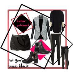 leather pathwork - fall fashion trend
