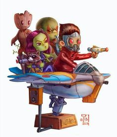 Guardians of galaxy baby