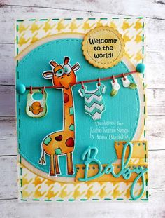 Marianne Design, Baby Cards, I Card, Make Your Own, My Favorite Things, Stencils, Doodles, Dots, Challenges