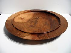 Original Woodturned Platters - Dave Appleby Woodturning Somerset